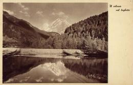 Dolomiti - Il Colosso Nel Laghetto - Formato Piccolo Non Viaggiata – E 9 - Cartoline