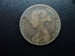 ROYAUME UNI : 1/2 PENNY  1868   KM 748.2      TB - 1816-1901 : Frappes XIX° S.