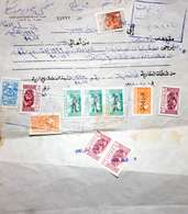 Syria,Syrie,Revenue #1998, 11 Stamps Of (Fiscal- Fiscaux),Very  Nice Document . - Syrie