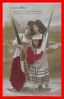 CPA MILITARIA. Guerre 1914-18.  Soeurs Alliées. Après La Victoire On S'embrassera...I0206 - Patriottiche