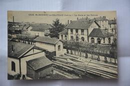 Saint-BONNET-le-CHATEAU-la Gare Et Les Usines - France