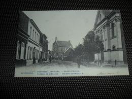 Meerdonck  Meerdonk  ( Sint - Gillis - Waas )  Voorgevel Der Kerk - Gemeentehuis - Sint-Gillis-Waas