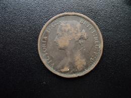 ROYAUME UNI : 1/2 PENNY  1881 H   KM 754 *      TB+ - 1816-1901 : Frappes XIX° S.