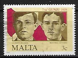 MALTE    -   1985 .   Y&T N° 709 Oblitéré . - Malta