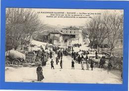 71 SAONE ET LOIRE - DAVAYE La Place Un Jour De Foire - Frankreich