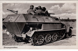 """Propaganda Karte  """" Panzergrenadiere - Guerre 1939-45"""