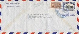 30838. Carta Aerea PANAMA 1950. Yvert 2698. Lucha Contra CANCER - Panamá