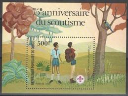 Congo - Bloc - YT 29 ** - 1985 - 75e Anniversaire Du Scoutisme - Scouting