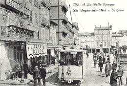 *Repro CPA  - 83 - LA SEYNE  SUR MER - Le Quai - France