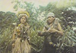Equateur - Archidona - Couple Indiens Amazoniens - Dompteur De Serpent - Snake Tamers - Equateur