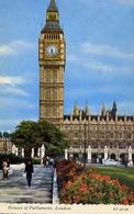 Hoses Of Parliament - London - Formato Piccolo Viaggiata – E 9 - Cartoline