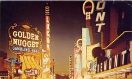 Premont Street - Las Vegas - Nevada - Formato Piccolo Viaggiata Mancante Di Affrancatura – E 9 - Cartoline
