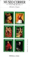 6 VIGNETTES DU MUSEE DU COURRIER DE VENISE PORTRAITS ET FIGURES VOIR SCAN - Autres Collections