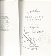 Dédicace De Deon Meyer - Les Soldats De L'aube - Books, Magazines, Comics