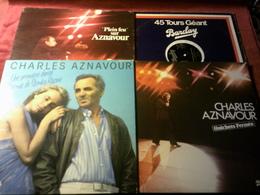 COLLECTION DE 11  VINYLES  DE CHARLES AZNAVOUR - Complete Collections
