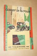 Les Taxis Vert,Bruxelles,très Ancien Ouvrage,Danger De La Route,Tram , Voiture , Moto, 21 Cm. Sur 14 Cm. - Advertising