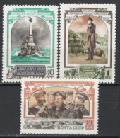Russia 1954 Unif. 1711/13 */MH VF - 1923-1991 USSR