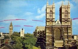 Westminster Abbey - West Tower - Formato Piccolo Viaggiata  E 9 - Postcards