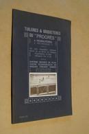 Catalogue D'Usine,Thuillerie Et Briqueteries Du Progrès à Hennuyères,complet + Photo D'incendie,24 Cm. Sur 16 Cm. - Publicité