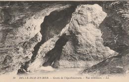 Morbihan : BELLE-ILE-en-MER : Grotte De L'apothicairerie - Vue Intérieure - Belle Ile En Mer