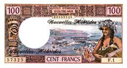 Billets >Nouvelle Hebride  100 Francs Type 1970 Qualité Neuf Cote 150 € - Vanuatu