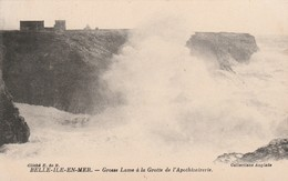 Morbihan : BELLE-ILE-en-MER : Grosse Lame à La Grotte De L'apothicairerie - Belle Ile En Mer