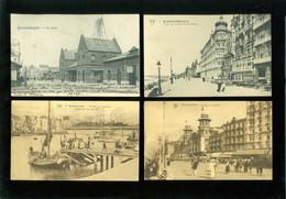 Lot De 50 Cartes Postales De Belgique  La Côte  Blankenberge      Lot Van 50 Postkaarten Van België Kust  - 50 Scans - Cartes Postales