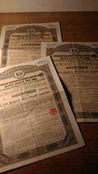 18 Obligations Russe 125 Roubles Or 4% 1893/1894 - Autres
