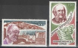 Congo - YT PA 278-279 ** - 1980 - Albert Camus - Jacques Offenbach - Congo - Brazzaville