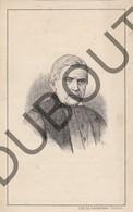 Doodsprentje Pierre-Antoine Putman °1790 Waregem †1871 Kortrijk/Courtrai Echtg. Sophie Deklercq (G10) - Décès
