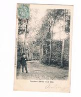 Ploegsteert Le Chemin Vers Le Gibet Carte Tres Rare - Comines-Warneton - Komen-Waasten