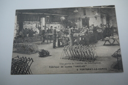 FONTENAY  LE  COMTE   FABRIQUE   DE CYCLES  ORIGAN - Fontenay Le Comte