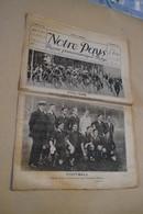 Cyclisme,ancienne Revue De Sport,Septembre 1920,Notre Pays,N° 32,complet - Cycling
