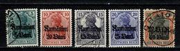 Rumänien - Mi 8/12 (11* MH), Yv. 26/30 (29* MH) (voir/zie 2 Scans) - Ocupación 1914 – 18
