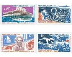 Ref. 32007 * MNH * - MALI. 1975. 70th ANNIVERSARY OF THE DEATH OF JULES VERNE . 70 ANIVERSARIO DE LA MUERTE DE JULIO VER - Mali (1959-...)