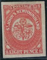 Terre Neuve - N° 8 * - Neuf Avec Charnière - TB - Newfoundland