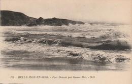 Morbihan : BELLE-ILE-en-MER : Port Donant Par Grosse Mer ( N°171-1 ) - Belle Ile En Mer