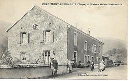 Vosges - 88 - Cornimont - Cherménil - Maison Géhin Boberieth - Cornimont