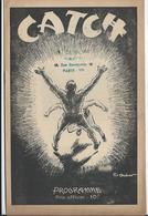 PARIS - CATCH Au Palais De Glace Le Samedi 10 Février 1945 - 8 Pages Avec Photos De Catcheurs Et Pub. - Programmes