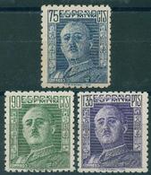 España 1946-1947. Edifil 999/01** - General Franco - 1931-50 Nuevos & Fijasellos