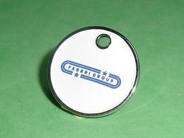 TC5 / JETONS DE CADDIES : Fabbri Group   TC5 - Trolley Token/Shopping Trolley Chip