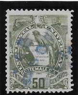 Guatemala N°38 - Oiseaux - Oblitéré - TB - Guatemala