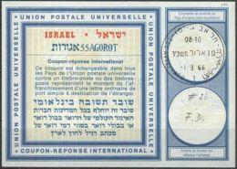 ISRAEL 1966 Nr. 26 IAS IRC CRI Int. Antwortschein 55 Agorot - Israel