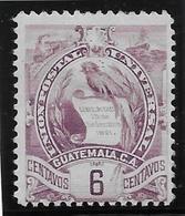 Guatemala N°48 - Oiseaux - Neuf * Avec Charnière - TB - Guatemala