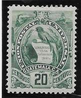 Guatemala N°50 - Oiseaux - Neuf * Avec Charnière - TB - Guatemala