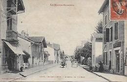 SAINT GAUDENS AVENUE DE LUCHON ANIMEE 1915/20 - Saint Gaudens