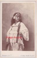 Photo XIX Constant Famin  Jeune Fille Africaine Africain Afrique   Alger Algerie  PRIX FIXE - Anciennes (Av. 1900)