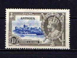 ANTIGUA    1935    Silver  Jubilee   2d  Ultramarine  And  Grey    MH - Antigua & Barbuda (...-1981)