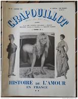 HISTOIRE DE L'AMOUR EN FRANCE - LE CRAPOUILLOT - BRIGITTE BARDOT - Livres, BD, Revues