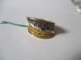 Anello Oro , Diamanti E Diamanti Bi-colore Comete Jewels - Anelli